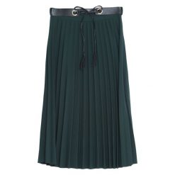 Spódniczki: Ciemnozielona Spódnica Caramel
