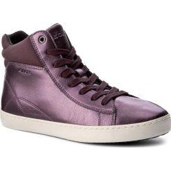 Sneakersy GEOX - J Gisli G. C J744NC 000NF C8017 D Prune. Fioletowe buty sportowe chłopięce marki Geox, ze skóry ekologicznej, na sznurówki. W wyprzedaży za 179,00 zł.