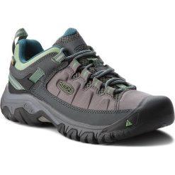 Trekkingi KEEN - Targhee Exp Wp 1017746 Steel Grey/Basil. Szare buty trekkingowe damskie Keen. W wyprzedaży za 379,00 zł.