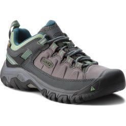 Buty trekkingowe damskie: Trekkingi KEEN - Targhee Exp Wp 1017746 Steel Grey/Basil