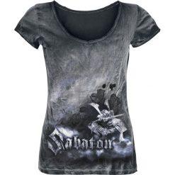 Bluzki asymetryczne: Sabaton Shiroyama Koszulka damska czarny