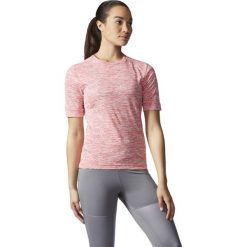 Bluzki damskie: Adidas Koszulka Supernova S-S różowy r. M (AC2103)