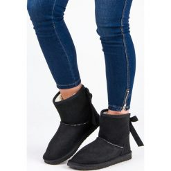 ZAMSZOWE ŚNIEGOWCE. Niebieskie buty zimowe damskie SEASTAR, z zamszu. Za 52,90 zł.