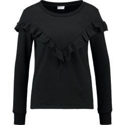 Bluzy damskie: Vila VIMISTA FLOUNCE  Bluza black