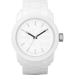 Zegarek DIESEL - Double Down S44 DZ1436  White/White. Białe zegarki męskie Diesel. Za 379,00 zł.