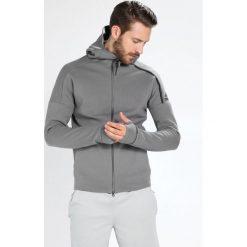 Adidas Performance ZNE HOODY Bluza rozpinana grefou. Szare bluzy męskie rozpinane marki adidas Performance, m, z bawełny, sportowe. W wyprzedaży za 341,10 zł.