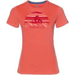 Odlo Koszulka tech. Odlo  TOP Crew neck s/s KUMANO LOGO   - 550091 - 550091/30465/S. Różowe t-shirty damskie Odlo, s. Za 82,57 zł.