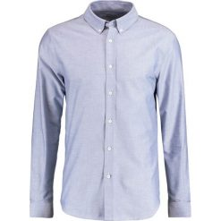 Koszule męskie na spinki: Editions MR EMBROIDERED OXFORD Koszula blue