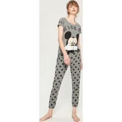 Piżama Mickey Mouse - Szary. Szare piżamy damskie marki Sinsay, l, z motywem z bajki. Za 69,99 zł.