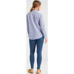 Koszule wiązane damskie: Dorothy Perkins Petite PRARIE FLORAL EMBROIDERED  Koszula blue