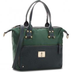 Torebka FLY LONDON - Jaxefly P974637002 Dark Green. Zielone torebki klasyczne damskie marki Fly London, z materiału, bez dodatków. W wyprzedaży za 239,00 zł.