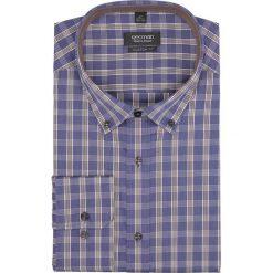 Koszula bexley 2153 długi rękaw custom fit niebieski. Szare koszule męskie marki Recman, na lato, l, w kratkę, button down, z krótkim rękawem. Za 99,99 zł.
