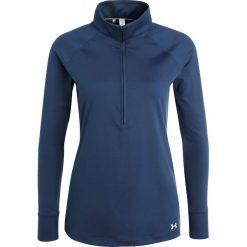 Under Armour ZINGER ZIP Bluzka z długim rękawem academy. Niebieskie bluzki longsleeves Under Armour, l, z elastanu, sportowe. W wyprzedaży za 201,75 zł.