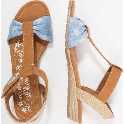 S.Oliver RED LABEL Sandały denim. Niebieskie sandały chłopięce marki s.Oliver RED LABEL, z denimu. Za 169,00 zł.