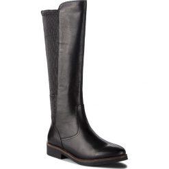 Oficerki CAPRICE - 9-25601-21 Black Nappa 022. Czarne buty zimowe damskie Caprice, ze skóry ekologicznej. W wyprzedaży za 279,00 zł.