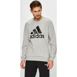 Adidas Performance - Bluza. Szare bluzy męskie rozpinane marki adidas Performance, z materiału, sportowe. Za 229,90 zł.