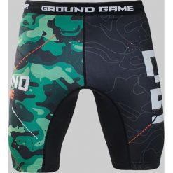 Ground Game Sportswear Spodenki Vale Tudo Moro czarne r. L. Szare spodenki sportowe męskie marki Pakamera, moro, z obniżonym stanem. Za 139,82 zł.