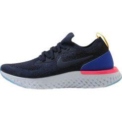 Nike Performance EPIC REACT FLYKNIT UT Obuwie do biegania treningowe college navy/race. Czarne buty sportowe chłopięce marki Nike Performance, z materiału, na golfa. Za 549,00 zł.
