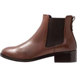 ALDO ERAYLIA Ankle boot cognac. Brązowe botki damskie skórzane ALDO. Za 459,00 zł.