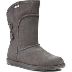 Buty EMU AUSTRALIA - Charlotte W10843 Szary. Szare buty zimowe damskie marki EMU Australia, z gumy. W wyprzedaży za 549,00 zł.