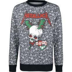 Metallica Holiday Sweater 2018 Sweter z dzianiny szary. Niebieskie swetry klasyczne męskie marki Cropp, l. Za 164,90 zł.