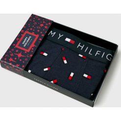 Tommy Hilfiger - Bokserki Happy Holidays. Czarne bokserki męskie TOMMY HILFIGER, z bawełny. Za 119,90 zł.