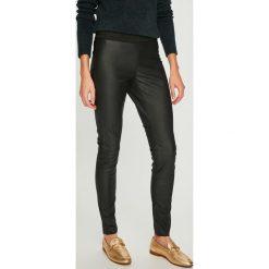 Vero Moda - Legginsy Storm. Szare legginsy skórzane marki Vero Moda, l. Za 129,90 zł.