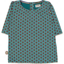 """Bluzka """"My My My"""" w kolorze błękitno-pomarańczowym. Niebieskie bluzki dziewczęce marki 4FunkyFlavours Kids, z okrągłym kołnierzem. W wyprzedaży za 82,95 zł."""