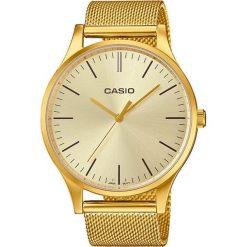 Zegarek Casio Damski LTP-E140G-9AE Retro Classic Mid Size złoty. Żółte zegarki damskie CASIO, złote. Za 391,80 zł.