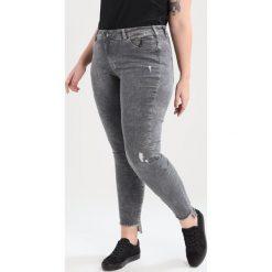 Boyfriendy damskie: Zizzi NILLE Jeans Skinny Fit dark grey denim