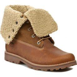 Trapery TIMBERLAND - Auth 6in Shrl Bt 50919/TB0509192141 Brown. Brązowe buty zimowe damskie marki Timberland, z materiału. W wyprzedaży za 409,00 zł.