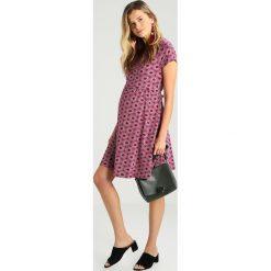 Sukienki hiszpanki: JoJo Maman Bébé FAN DRESS Sukienka z dżerseju beaujoulais