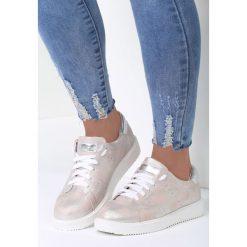 Różowe Buty Sportowe Get In. Czerwone buty sportowe damskie marki KALENJI, z gumy. Za 79,99 zł.