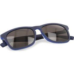 Okulary przeciwsłoneczne BOSS - 0317/S Matt Blue RCT. Niebieskie okulary przeciwsłoneczne damskie marki Boss. W wyprzedaży za 379,00 zł.