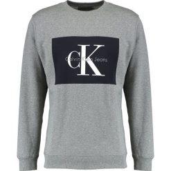 Calvin Klein Jeans HOTORO REGULAR FIT Bluza light grey heather. Szare kardigany męskie marki Calvin Klein Jeans, m, z bawełny. W wyprzedaży za 359,20 zł.