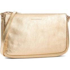 Torebka COCCINELLE - CV3 Mini Bag E5 CV3 55 E1 07 Platino N49. Żółte listonoszki damskie Coccinelle, ze skóry. W wyprzedaży za 489,00 zł.