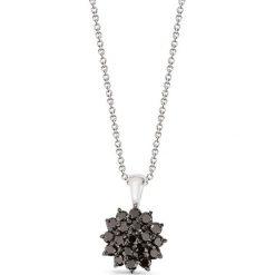Łańcuszki męskie: Wspaniały Srebrny Wisiorek – srebro 925, Cyrkonia