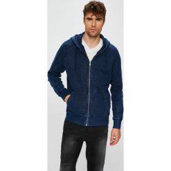 Calvin Klein Jeans - Bluza. Czarne bejsbolówki męskie Calvin Klein Jeans, l, z bawełny, z kapturem. Za 539,90 zł.