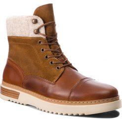 Kozaki GANT - Jean 17643895 Cognac G45. Brązowe buty zimowe męskie GANT, z materiału. Za 739,90 zł.