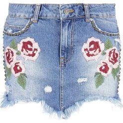 Spódniczki: Free People WILD ROSE  Spódnica jeansowa light denim