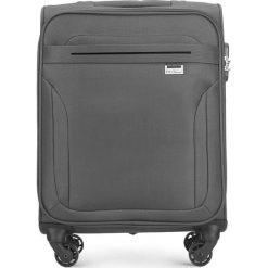 Walizka kabinowa V25-3S-261-00. Szare walizki Wittchen, małe. Za 149,00 zł.