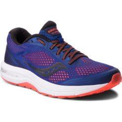 Buty SAUCONY - Clarion S20447-35 Blu/Viz Red. Czerwone buty do biegania męskie Saucony, z materiału. W wyprzedaży za 279,00 zł.