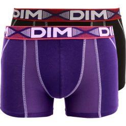 Bokserki męskie: DIM 3D AIR 2 PACK Panty noir/violet auburn