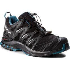 Buty SALOMON - Xa Pro 3D Gtx Nocturne GORE-TEX 404745 30 V0 Black/Black/Mallard Blue. Czarne buty do biegania męskie marki Salomon, z gore-texu, na sznurówki, gore-tex. W wyprzedaży za 519,00 zł.