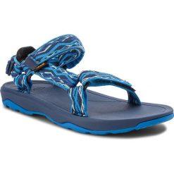 Sandały TEVA - Hurricane Xlt 2 1019390Y Delmar Blue. Niebieskie sandały chłopięce Teva, z materiału. W wyprzedaży za 139,00 zł.
