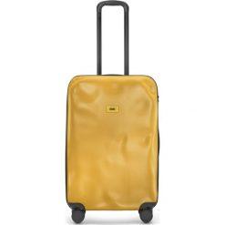 Walizka Icon średnia matowa żółta. Szare walizki marki Crash Baggage, z materiału. Za 1040,00 zł.