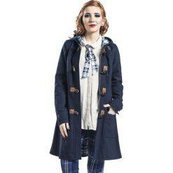 Doctor Who Police Box Płaszcz damski niebieski. Niebieskie płaszcze damskie pastelowe Doctor Who, m, z aplikacjami. Za 346,90 zł.