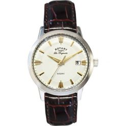 ZEGAREK ROTARY Regent GS90112/06. Żółte zegarki męskie marki W.KRUK, złote. Za 1090,00 zł.