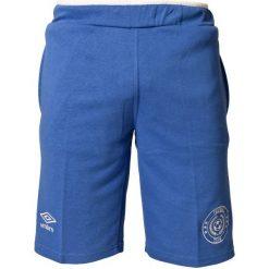 Umbro Spodenki Dazzling Blue L. Czarne spodenki dresowe męskie marki bonprix, w paski. W wyprzedaży za 59,00 zł.