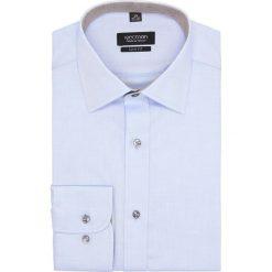 Koszula bexley 2676 długi rękaw slim fit niebieski. Szare koszule męskie slim marki Recman, m, z długim rękawem. Za 139,00 zł.